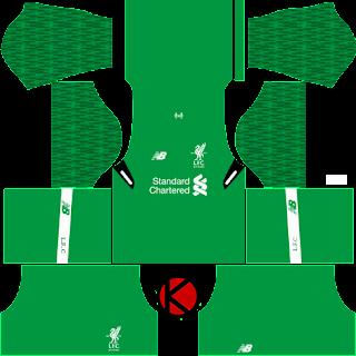 Liverpool Kits 2017/18 - Dream League Soccer 2017