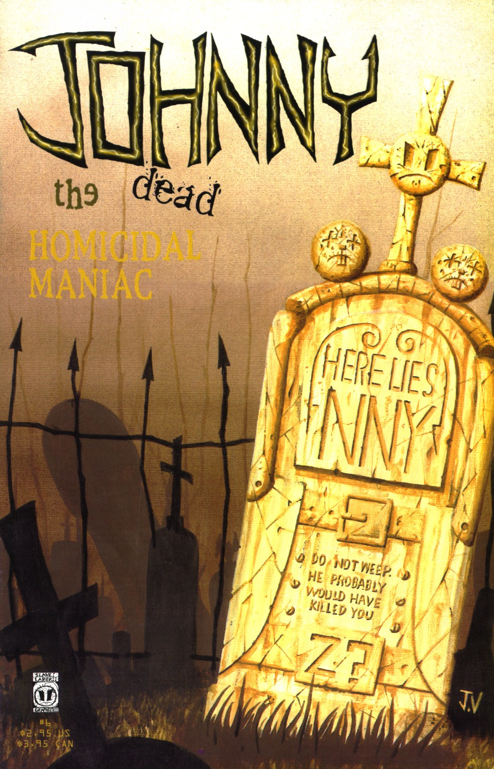 Johnny the Homicidal Maniac issue 6 - Page 1