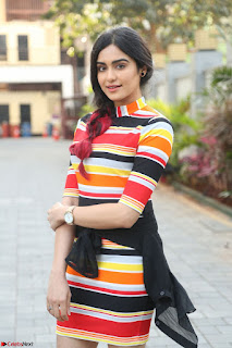 Adha Sharma in a Cute Colorful Jumpsuit Styled By Manasi Aggarwal Promoting movie Commando 2 (33).JPG