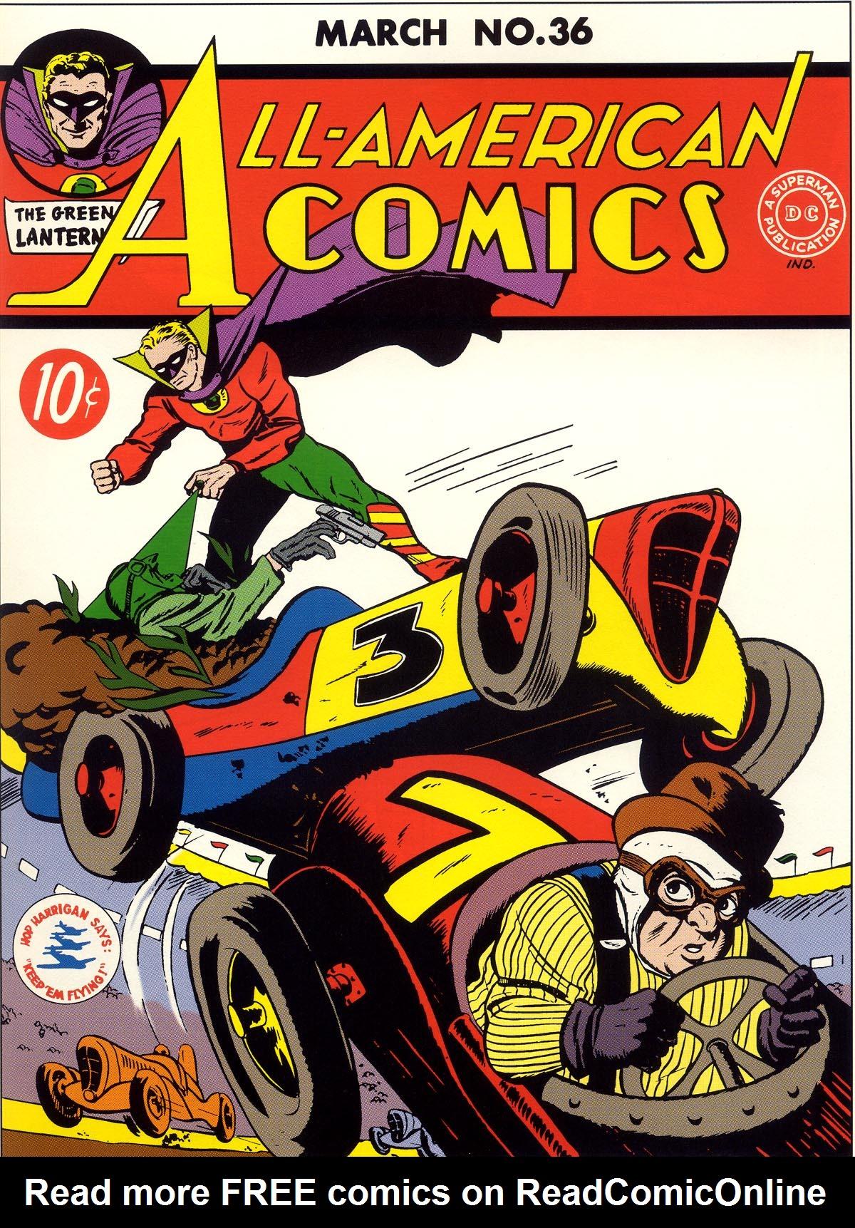 All-American Comics (1939) 36 Page 1