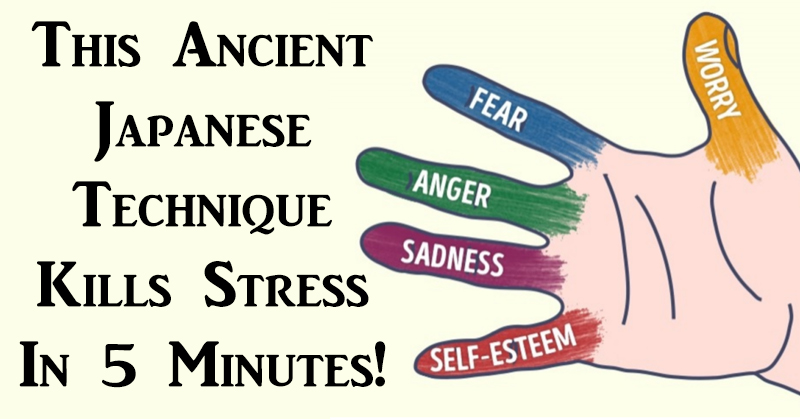This Ancient Japanese Technique Kills Stress In 5 Minutes! - RiseEarth