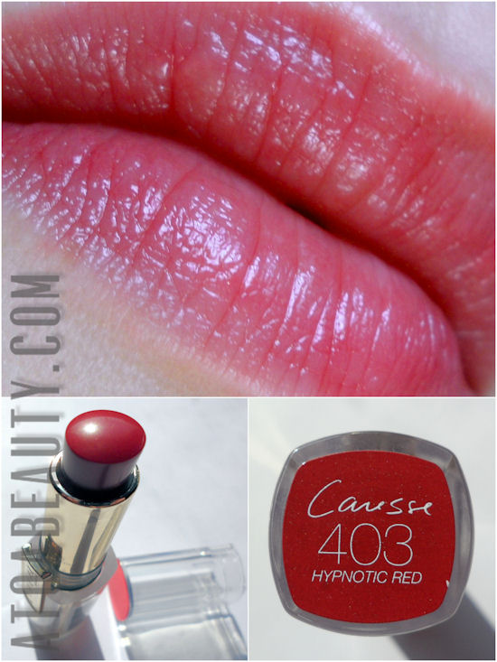 L'Oréal, Rouge Caresse, 403 Hypnotic Red
