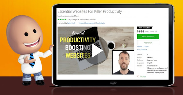 [100% Off] Essential Websites For Killer Productivity| Worth 40$