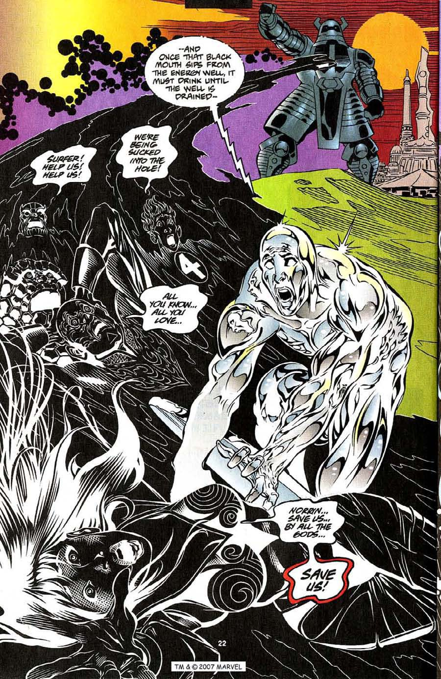 Read online Silver Surfer (1987) comic -  Issue #111 - 24