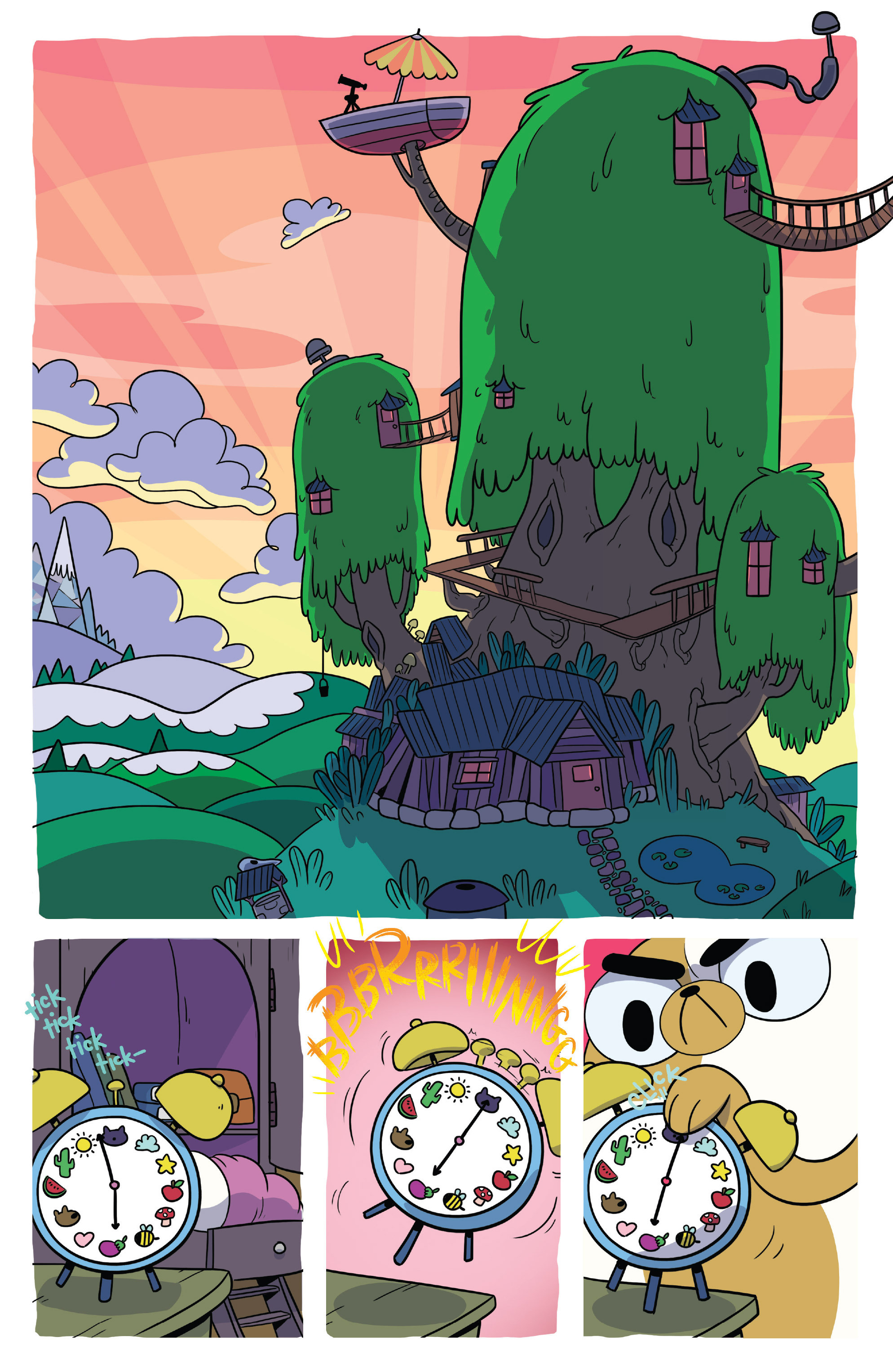 Read online Adventure Time Fionna and Cake Card Wars comic -  Issue #4 - 3