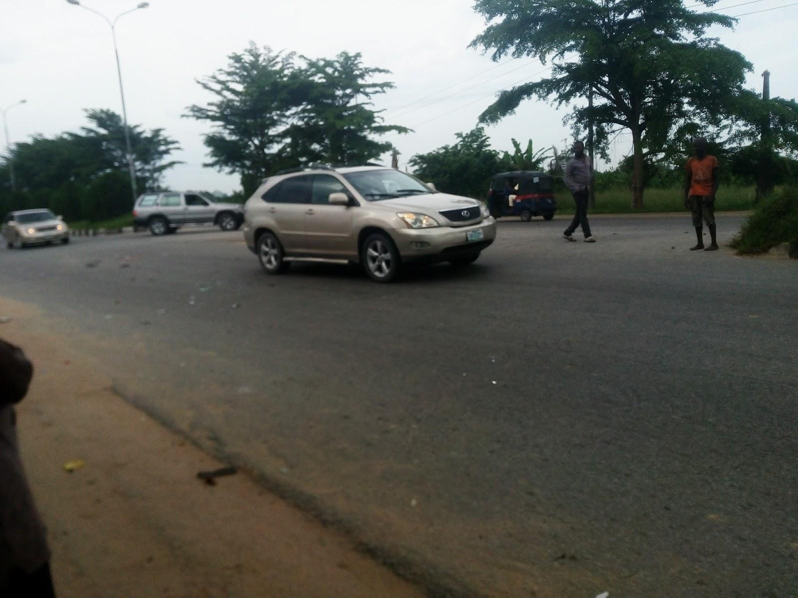 Keke and Toyota car accident in Yenagoa