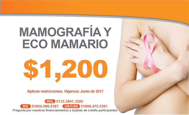 Prevencion deEl cáncer mamario. Promoción de mastografia en Guadalajara, México