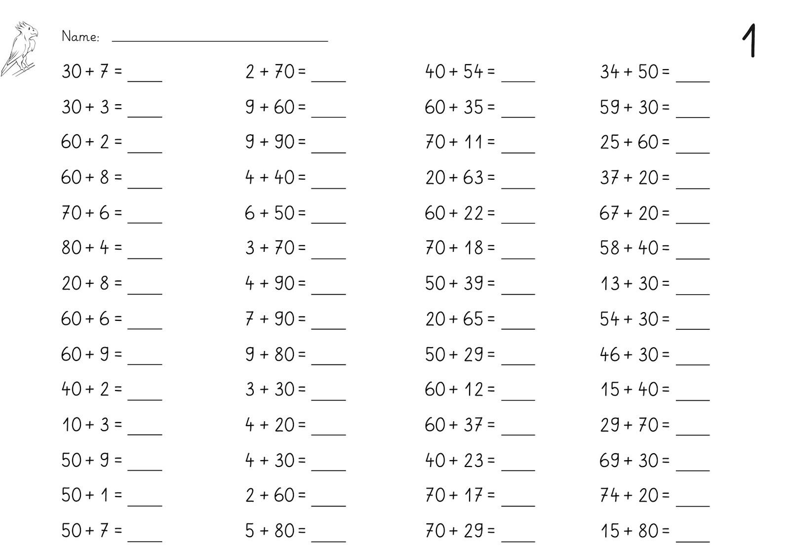 lernst252bchen rechnen mit zehnerzahlen