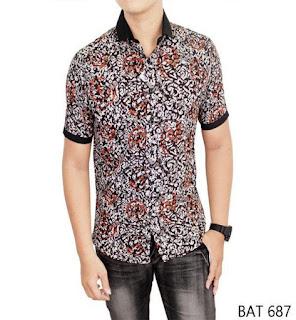 model baju batik pria yang bagus