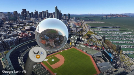 Google Earth VR now supports Street View