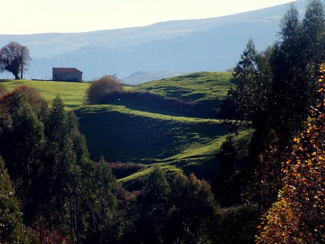 paisajes de cantabria, viaje en coche