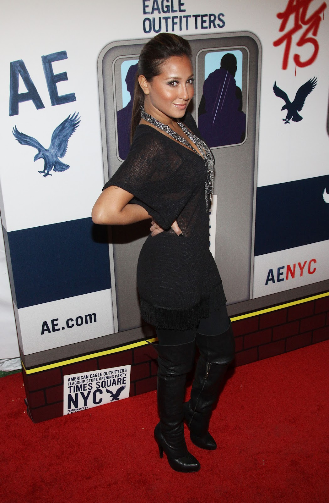 Will adrienne bailon in boots happens