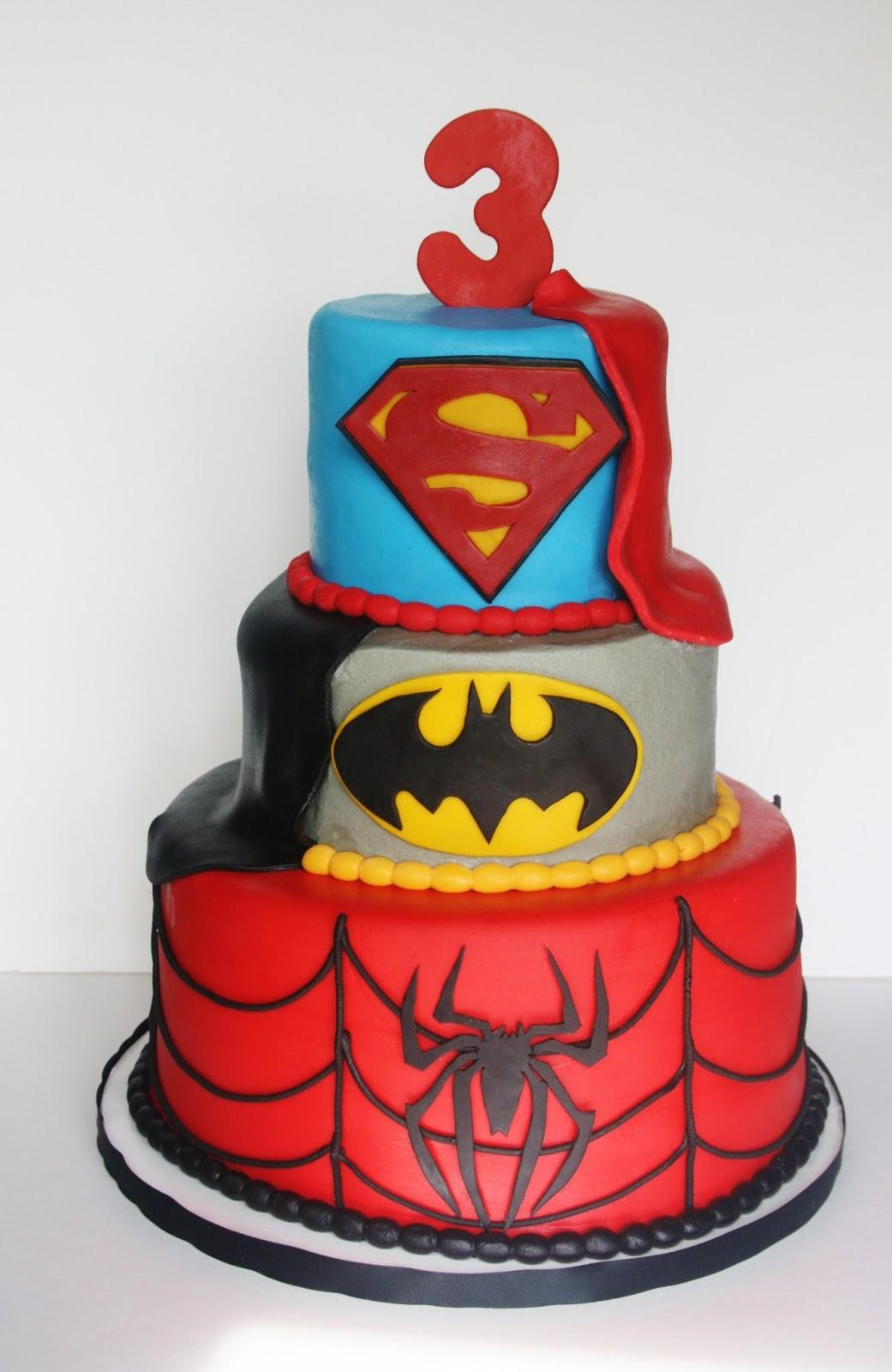 Superheroes - Louise Jackson Cake Design |Superhero Cakes
