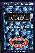 Traverse Bay dried blueberries