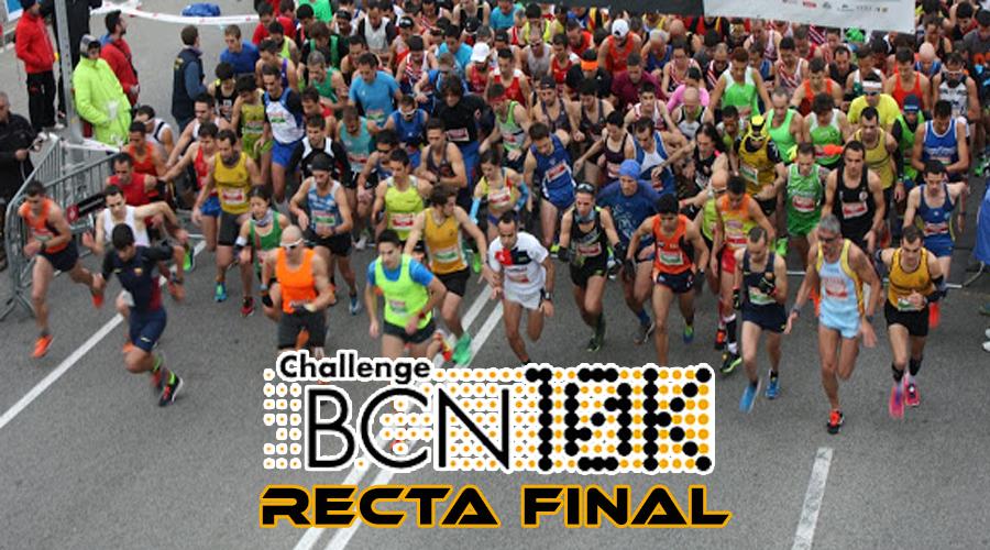 Recta Final ChallengeBCN 10k 2015/16