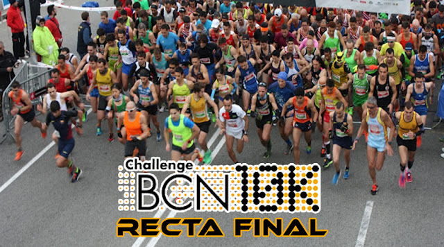 Recta Final ChallengeBCN 10k 2015/16