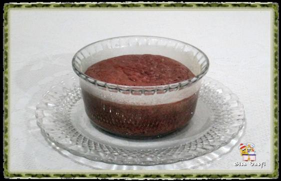 Suflê de chocolate 1