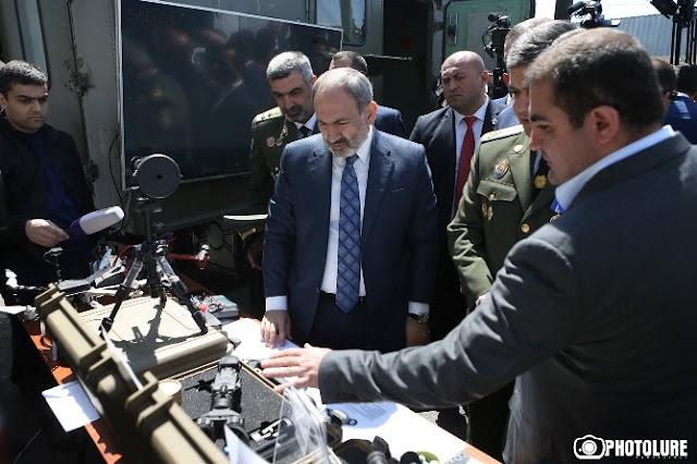 Pashinyan asiste a un evento dedicado al Día de la Guardia Fronteriza