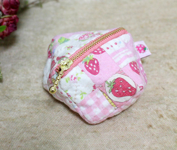 Diy Coin Purse No Sew Patchwork Zipper Coin ...