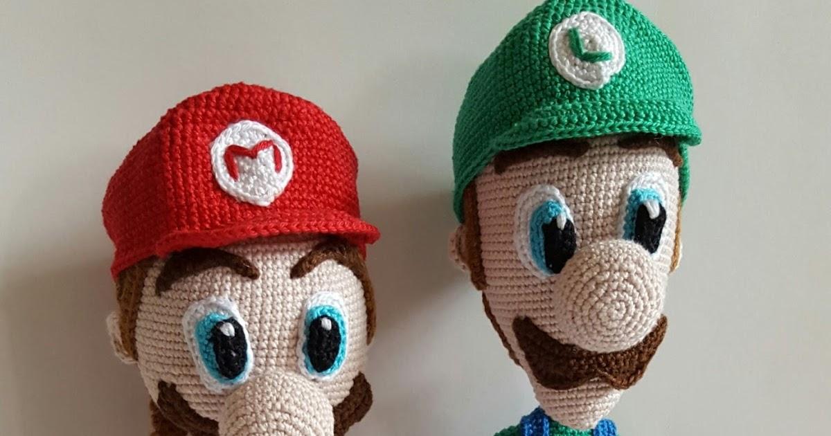 Wundervolle Amigurumi Welt: Nintendo: Mario und Luigi