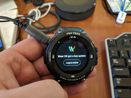 Casio F20 gets Wear OS 2.0 ~ Android Coliseum