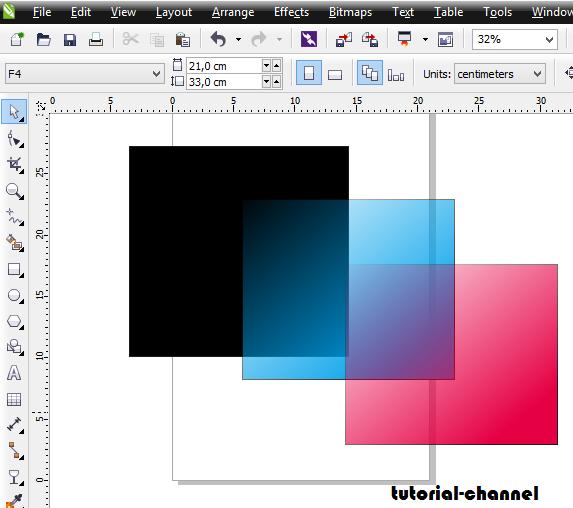 Cara membuat gambar transparan pada CorelDraw  Belajar