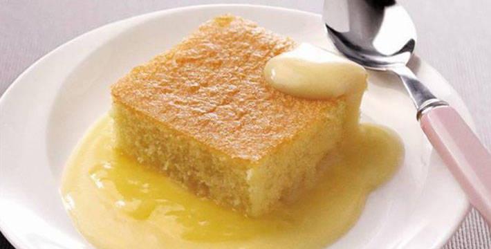 लेमन डिलिशियस पुडिंग - पाककला | Lemon Delicious Pudding - Recipe