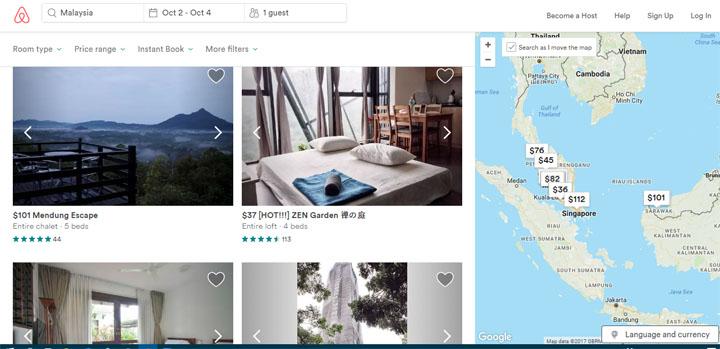 Panduan Iklankan Homestay Menerusi Airbnb