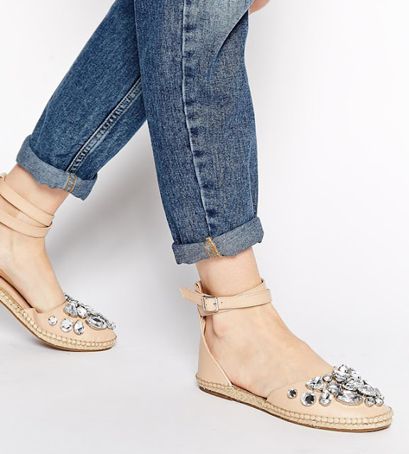 Without espadrille summer is never complete. KG by Kurt Geiger Moonstone Espadrille Flat Shoes