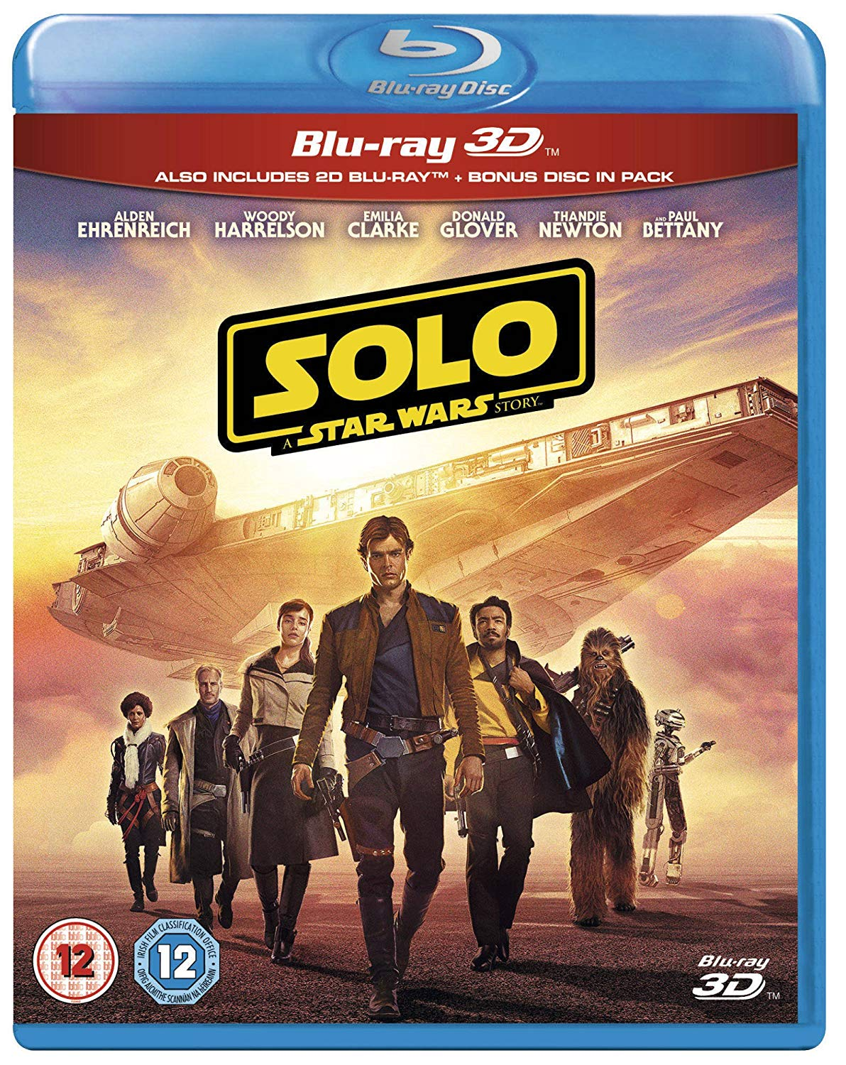 'SOLO - A STAR WARS STORY' COMES TO UK BLU-RAY AND DVD