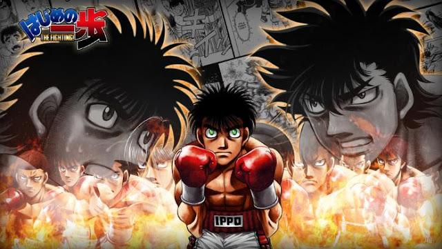 Hajime no Ippo - Daftar Anime Martial Arts Terbaik dan Terpopuler