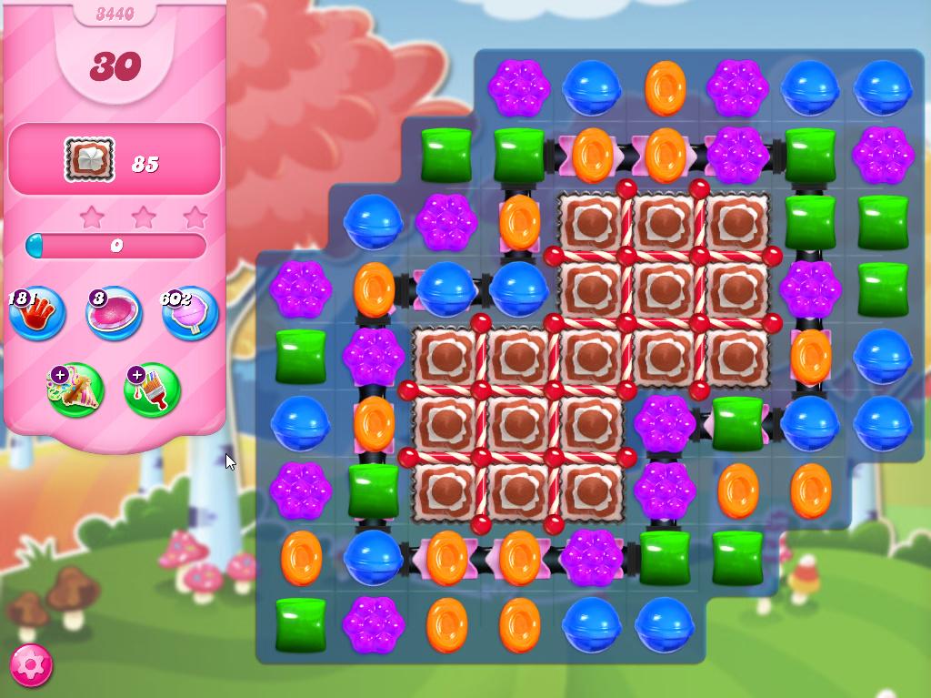 Candy Crush Saga level 3440