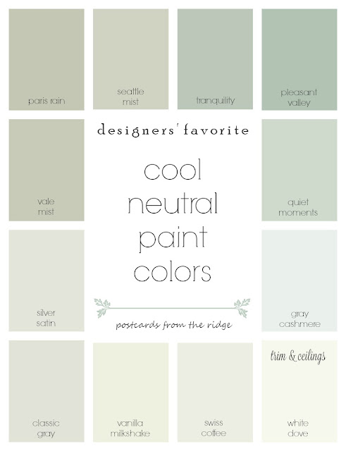 Neutral Color 9 no-fail neutral paint colors - postcards from the ridge