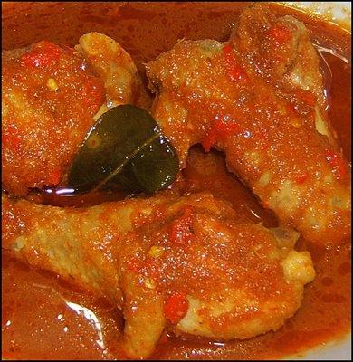Malaysia and Middle East Food: Recipe Asam Pedas Ayam