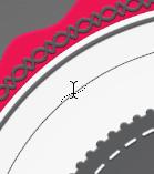 Cara Membuat Teks Lengkung di Photoshop 11