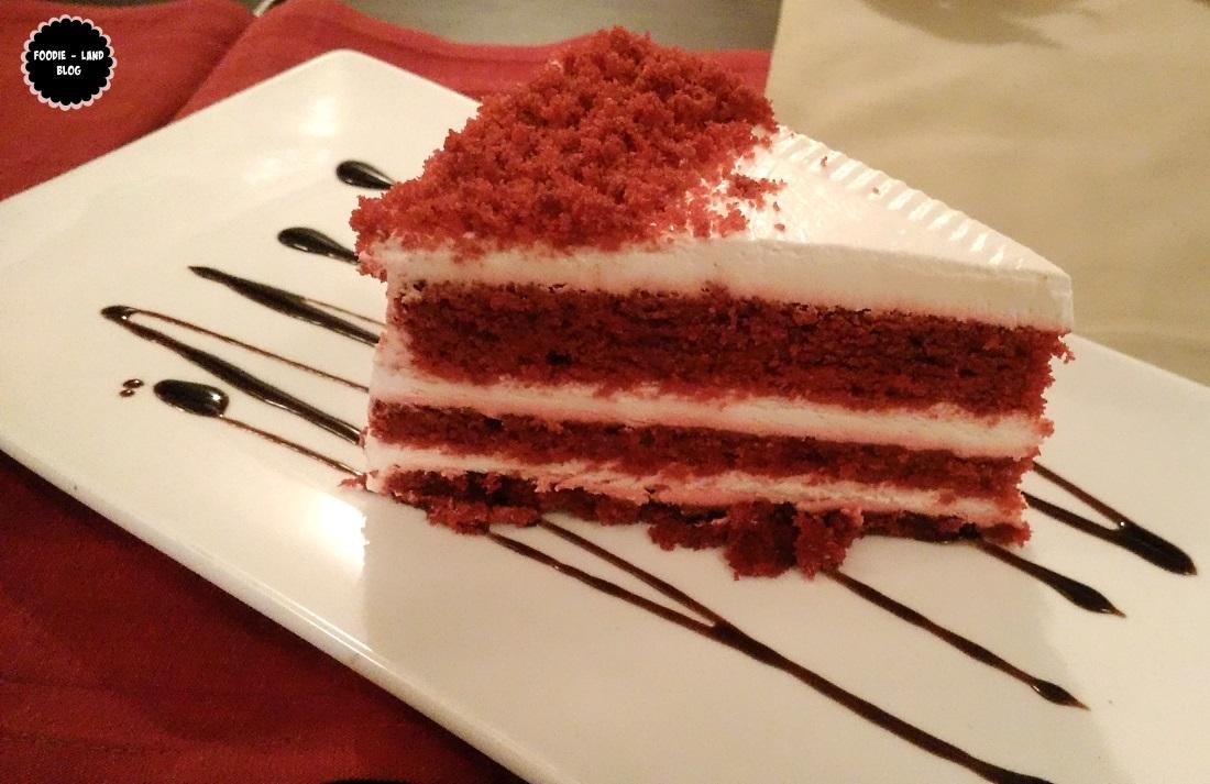 Red velvet pastry @ Hunan | Koramangala | Bangalore