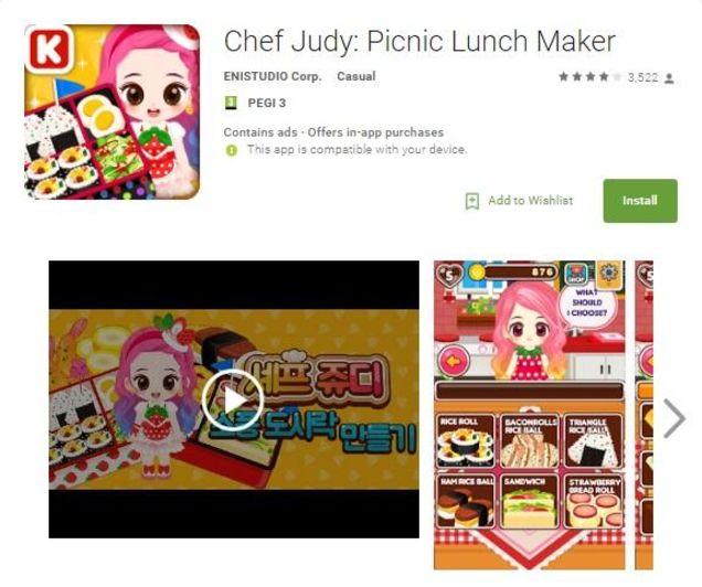 """Una e las """"inofensivas"""" apps en las que se ocultaba """"Judy"""". FOTO: Check Point"""