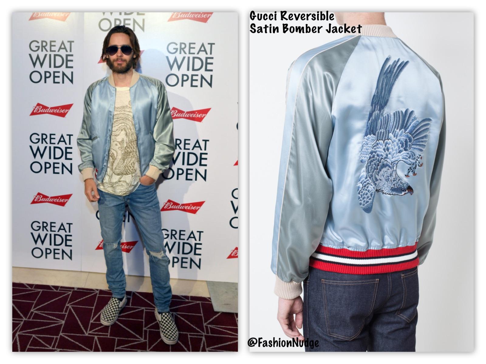 10b6fd925 Gucci Bomber Jacket Mens Fake