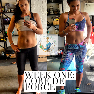 Alyssa Schomaker, beachbody elite coach, Core de force, core de force meal plan, core de force nutrition, core de force one week results, core de force results