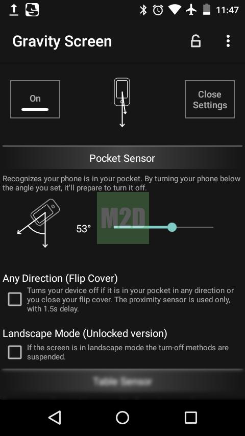 Pocket Sensor