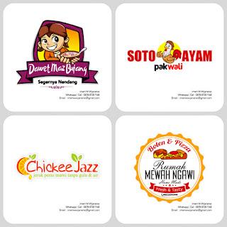 jasa pembuat logo makanan