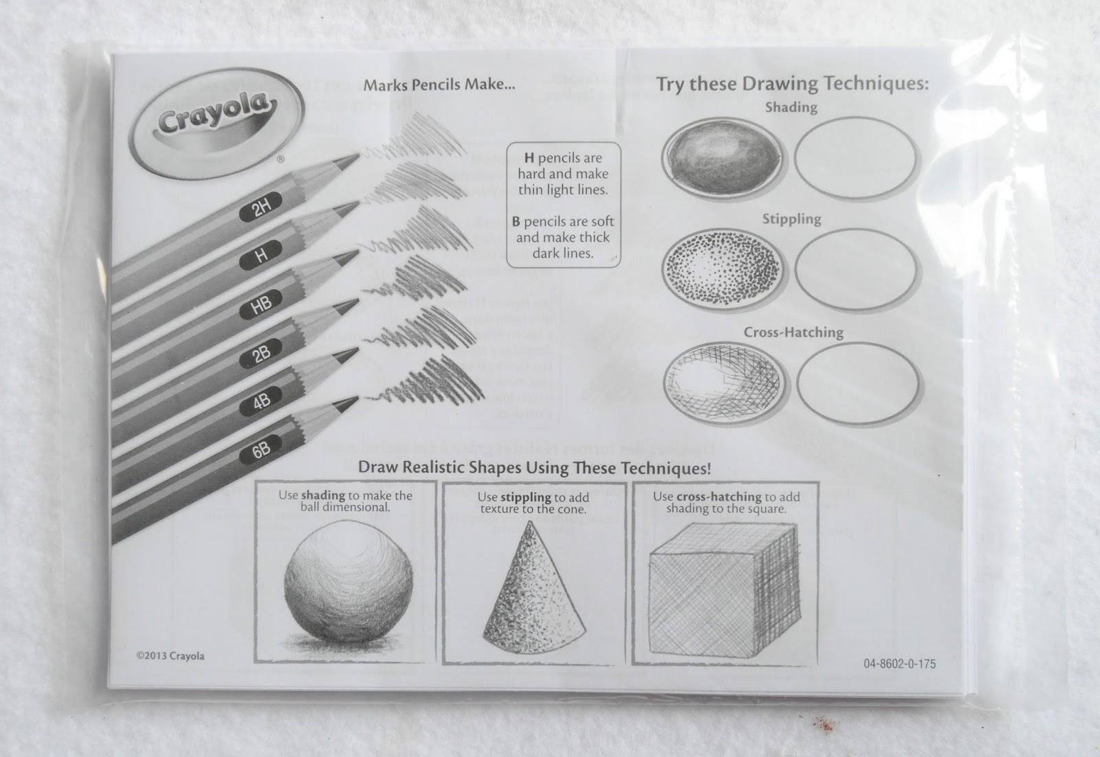 65 Piece Crayola Pencils Set With Graphite Pencils Whats Inside