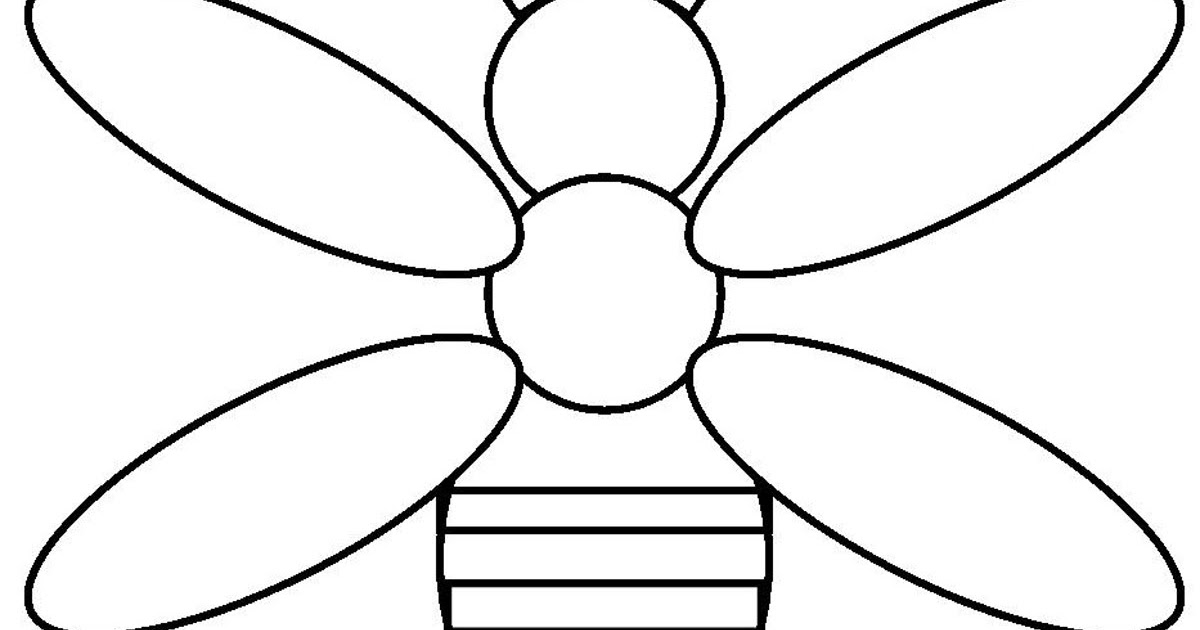 baby bees house Bee templates