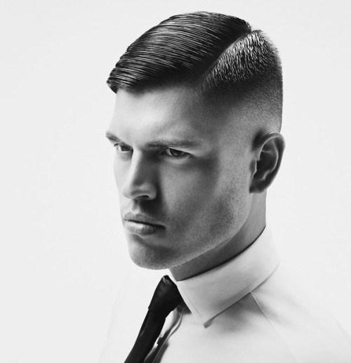 corte de pelo hombre raya al lado - Corte Pelo Caballero