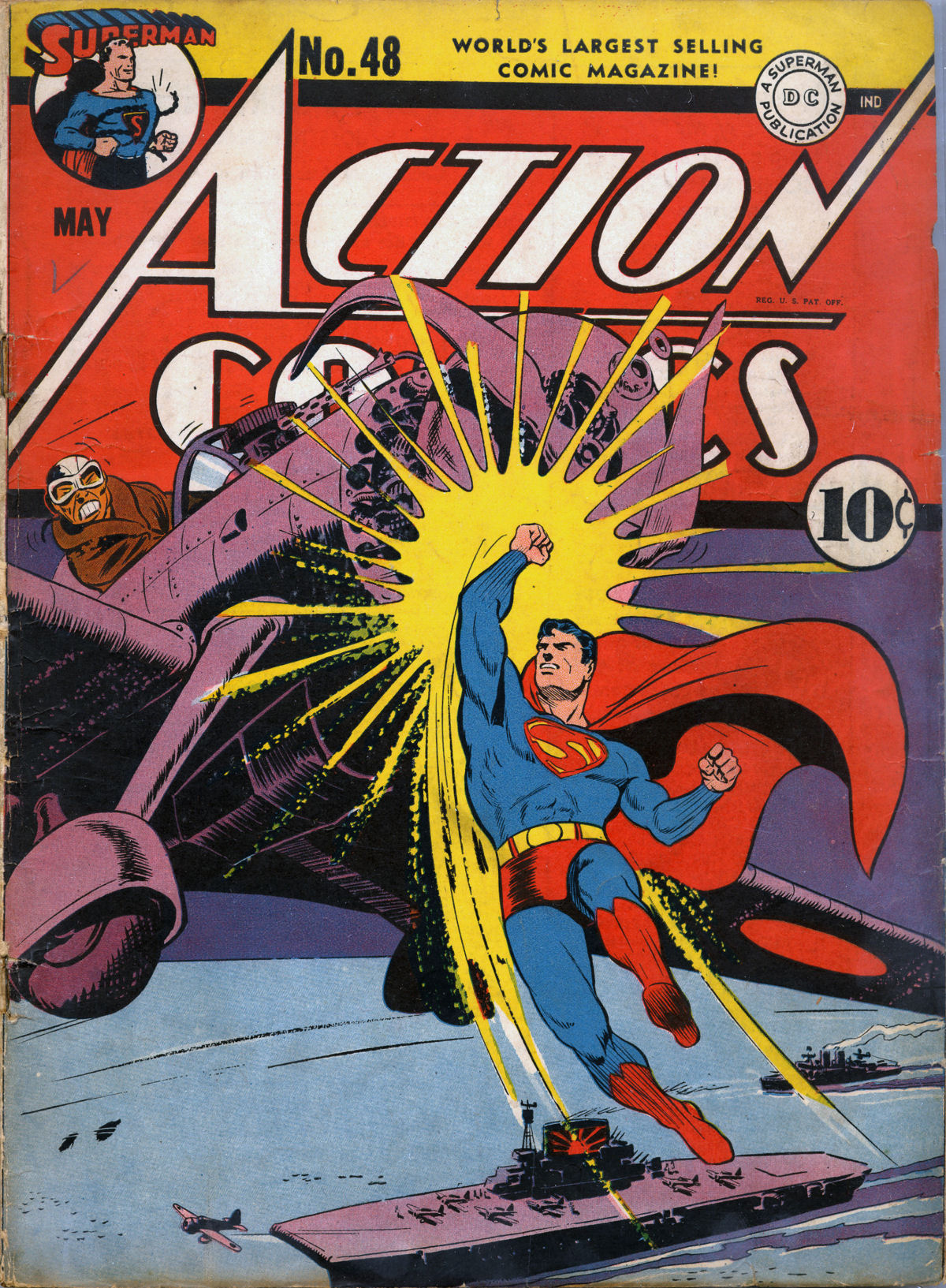 Read online Action Comics (1938) comic -  Issue #48 - 1