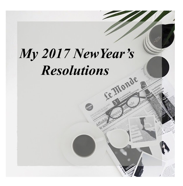These are my new year's resolutions. I have a blog resolutions, if you would like to know about them, please tell me in the comment down below so I can share them with you. What about you? I would love to know your resolutions for the year. Please feel free to leave a comment with them and share it with the world and inspire others to do this.