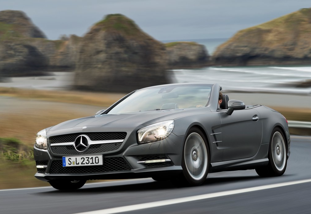 2013 Mercedes Benz SL Class Grey