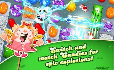 Candy Crush Saga apk Download unlimited everything