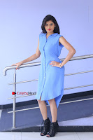 Telugu Actress Mounika UHD Stills in Blue Short Dress at Tik Tak Telugu Movie Audio Launch .COM 0042.JPG