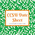 CCSU Date Sheet 2019 Download CCS University Exam Scheme PDF